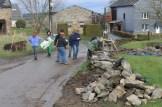 Wandebourcy - chantier des Sètches Pires du 22 mars