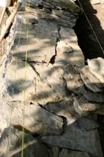 Wibrin - pierres sèches - jardins Formation Murs en pièrre sèche - Juin 2014