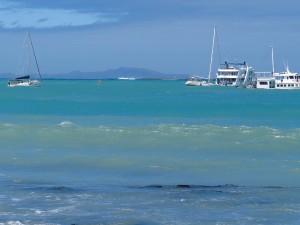 Puerto Ayora rough anchorage