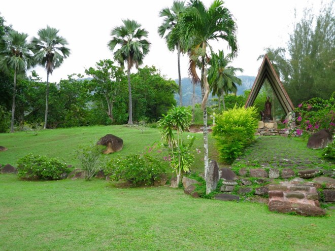 Church Grounds in Taiohae, Nuku Hiva