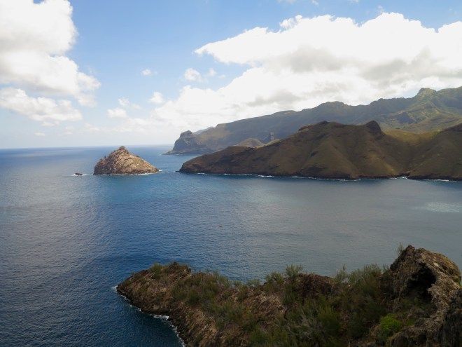 Entrance to Taiohae Bay, Nuku Hiva