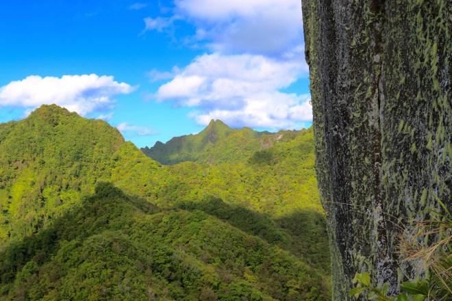 Rarotonga Mountain view