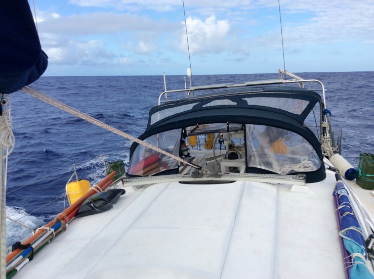 Beneteau 445 Sailing to Opua