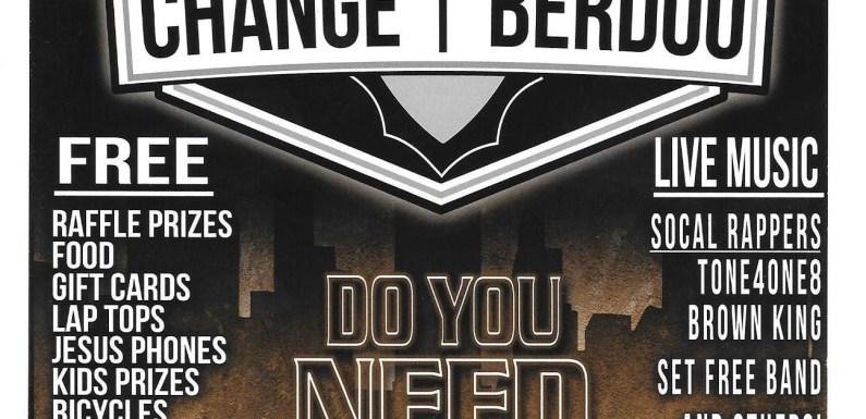 Change Berdoo
