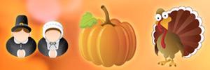 November Seasonal Icons
