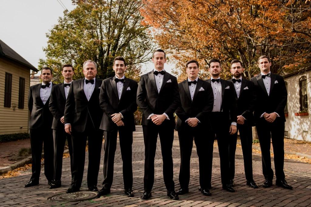 groomsmen at Columbus Ohio Westin Wedding