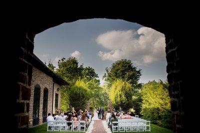 ceremony at Pinnacle Golf Club Wedding