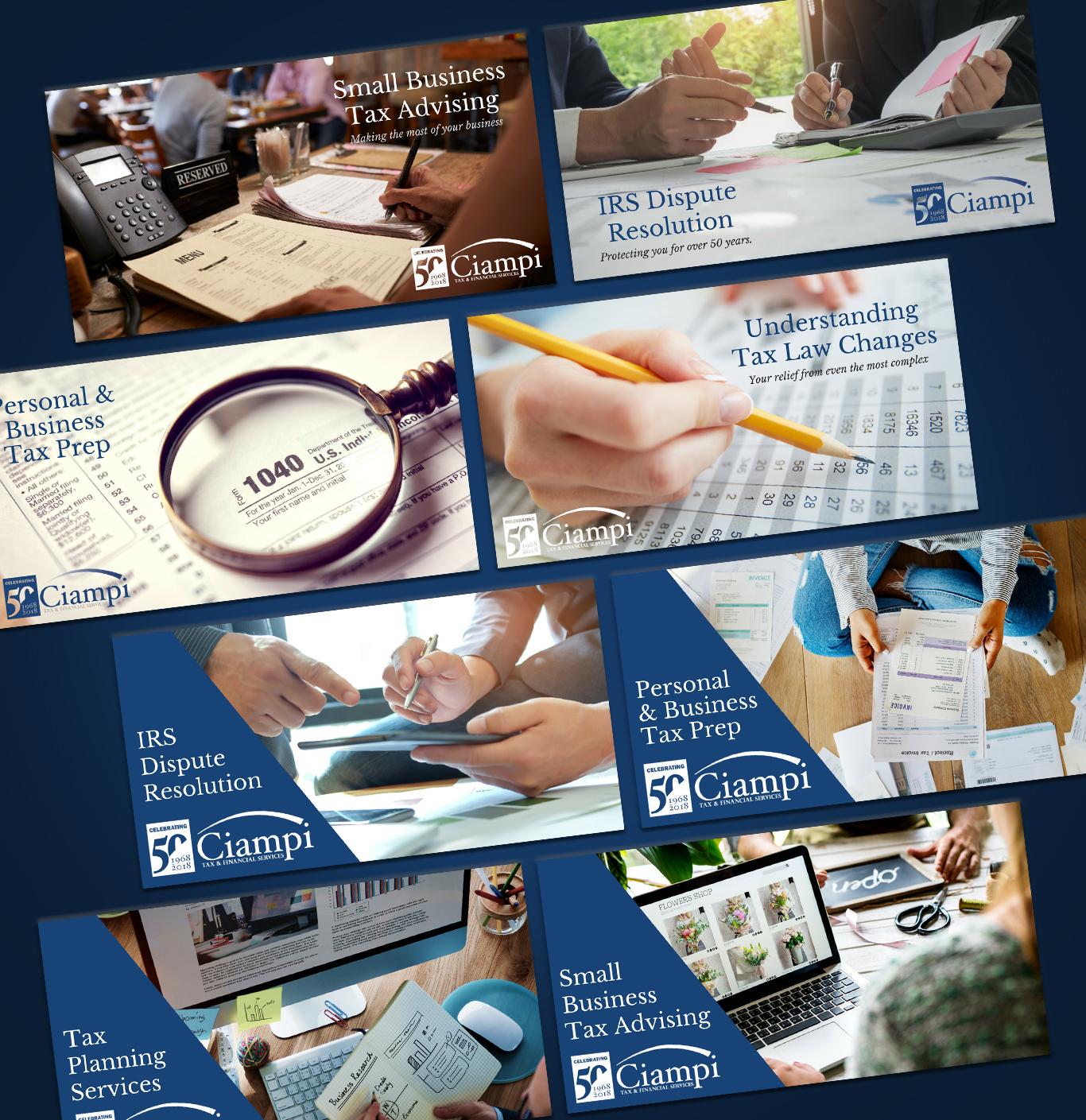 Ciampi Tax & Financial Services Social Marketing