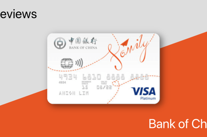 Review: Bank of China Family Card – 10% on Dining, 3% on Public Transportation, Groceries, and Online Purchases