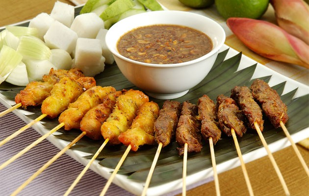 Foods to Eat in SingaporeSatay