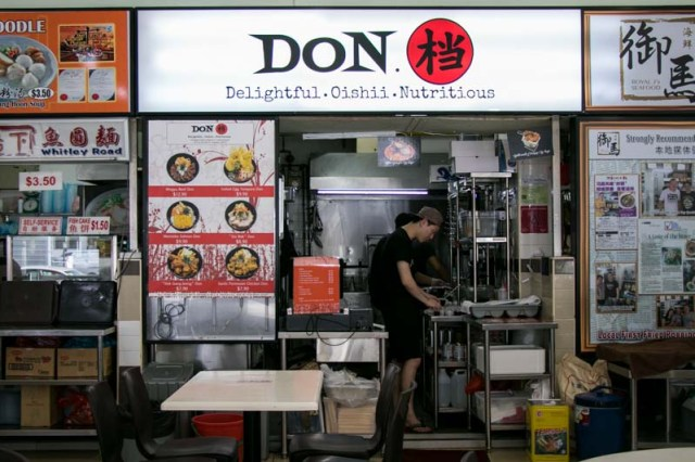 DON. Storefront 10 Dons For S$10 & Under In Singapore For Those Who Are Mad About Rice Bowls