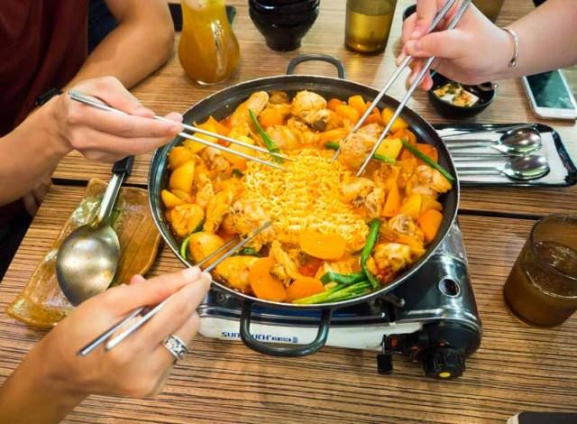seoul yummy spicy challenge - 8
