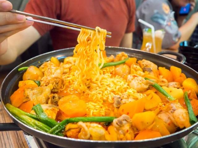 seoul yummy spicy challenge - 9