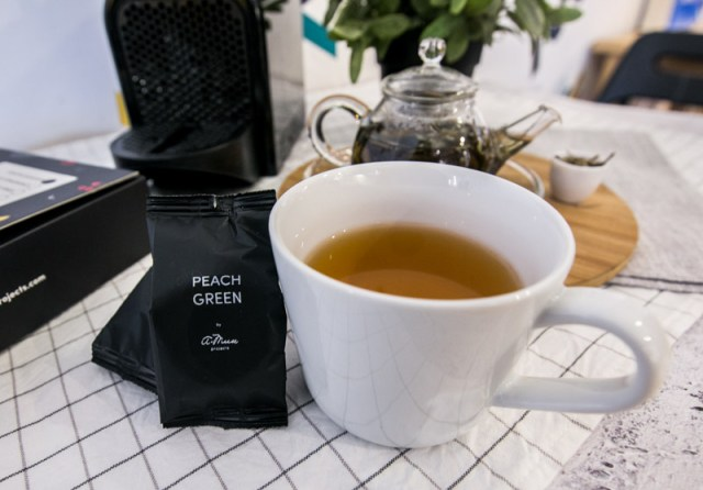 Tea Pod 11 Have A Break With These Nespresso Compatible Earl Grey & Peach Green Tea Capsules By A.Muse Projects