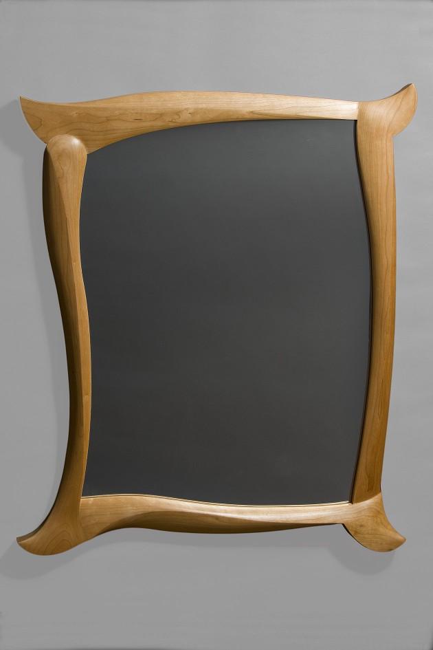 tango mirror sculptural wood mirror
