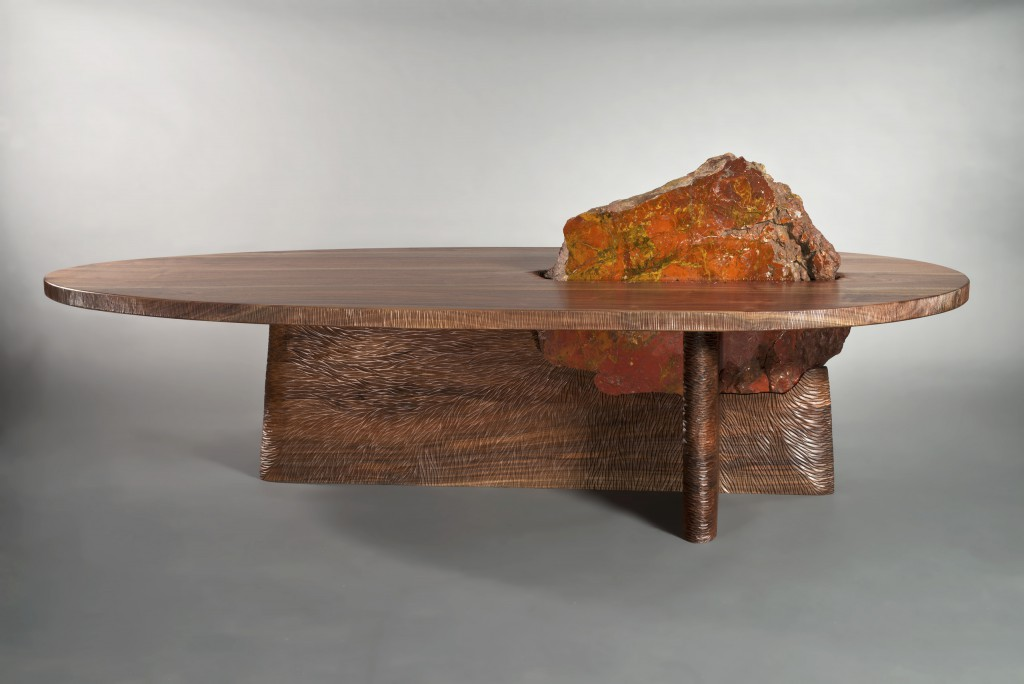 Cleft Coffee Table Solid Wood Coffee Table Seth Rolland