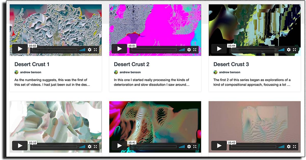 These 'Desert Crust Series' Videos are Amazing