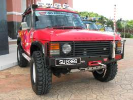 Red 4x4 Car