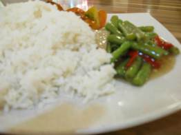My food..Vege eh..