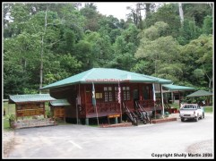 Front view Mahua Waterfall Information Centre