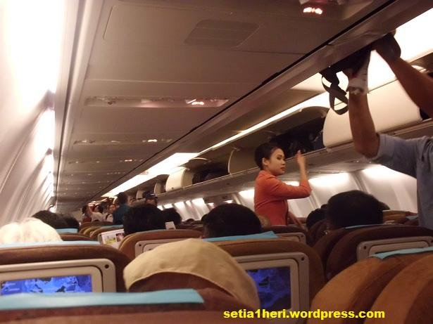 bagian dalam pesawat garuda