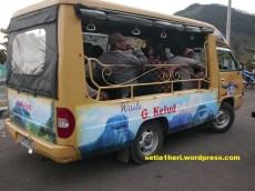 kendaraan gunung kelud