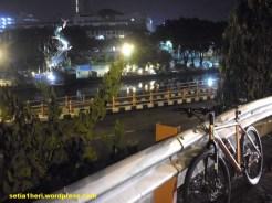 gowes di taman BMX Surabaya