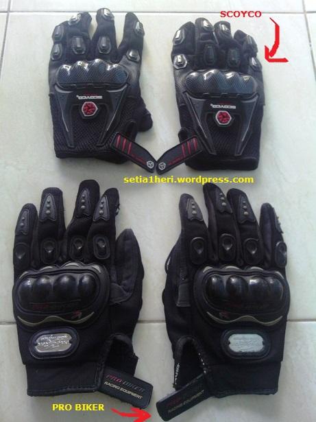 sarung tangan atau GLOVES pro biker - scoyco
