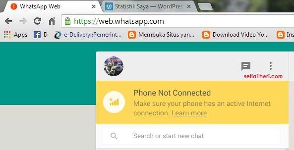 whatsapp versi web browser mesti pake jaringan internet