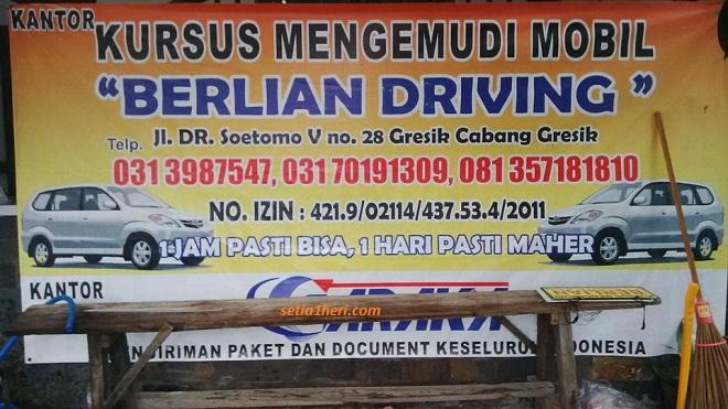 kursus setir mobil Berlian Driving Gresik