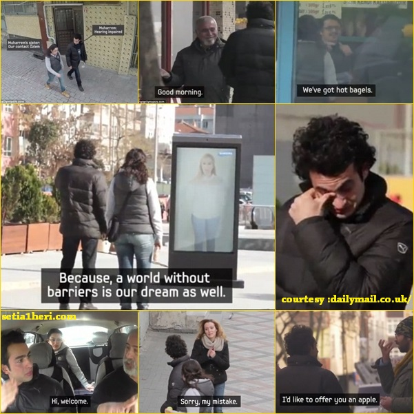 berbicara dengan bahasa isyarat tuna rungu di turki