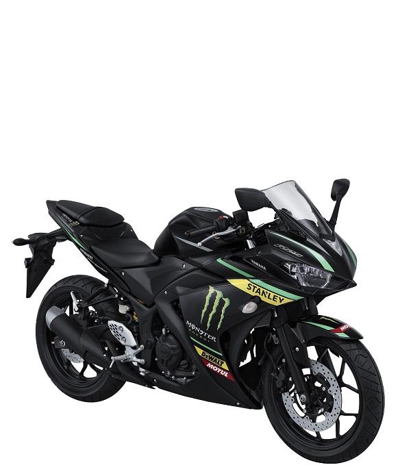 YZF-R25 Monster Yamaha Tech 3 Livery