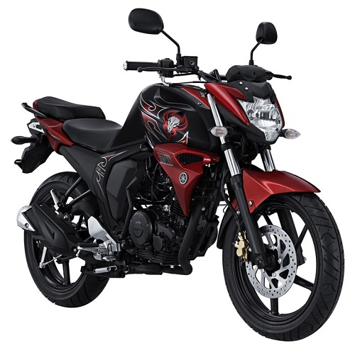 All New Byson FI Red Combat tahun 2015