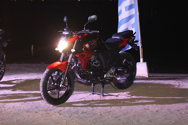 All New Byson Fuel Injection Red Combat tahun 2015