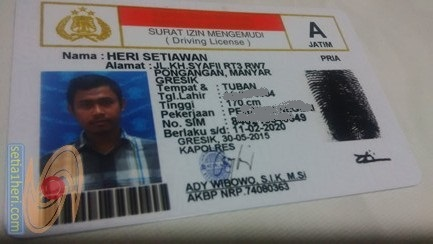 SIM A punya KHS