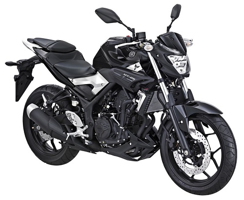 Yamaha MT-25 Black Strike