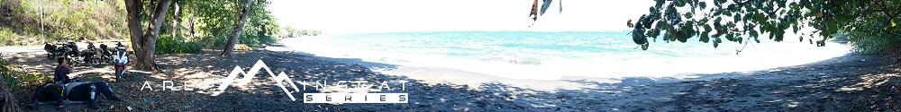 indahnya pantai di pinggiran NTT