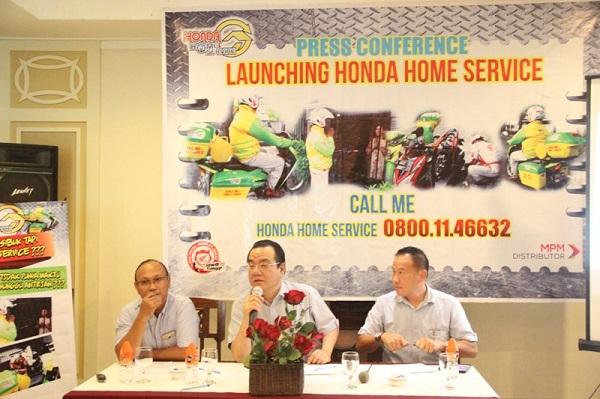 launching layanan Honda Home Service tahun 2015