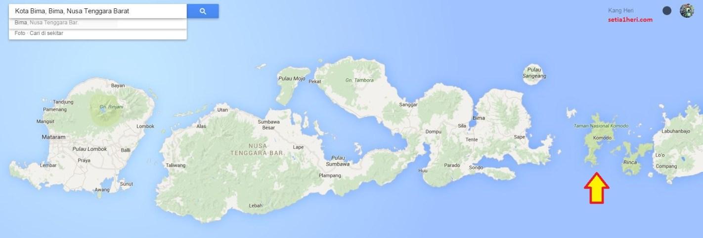 rute ngomodo series 2015 dari lombok, sumbawa besar, bima, sape, pulau komodo