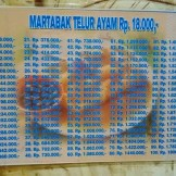 daftar harga Martabak HAR palembang