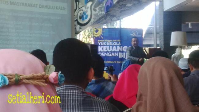 Jumpa Blogger SunLife di Artotel Surabaya 2015