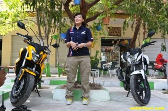 ayu marketing big bike honda jawa timur
