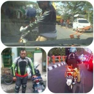 pelaku biker abal-abal yang melakukan pemalakan di kota surabaya tahun 2015 (1)
