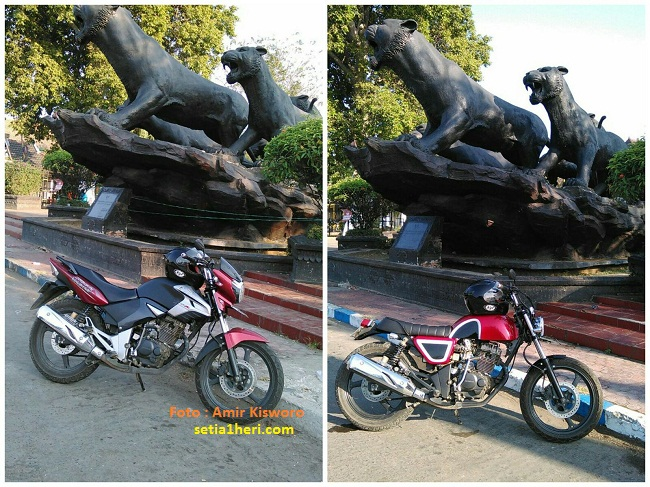 tiger jap style di alun-alun blok M ponorogo