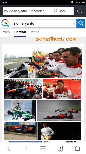 Rio Haryanto menuju Formula F1 tahun 2015