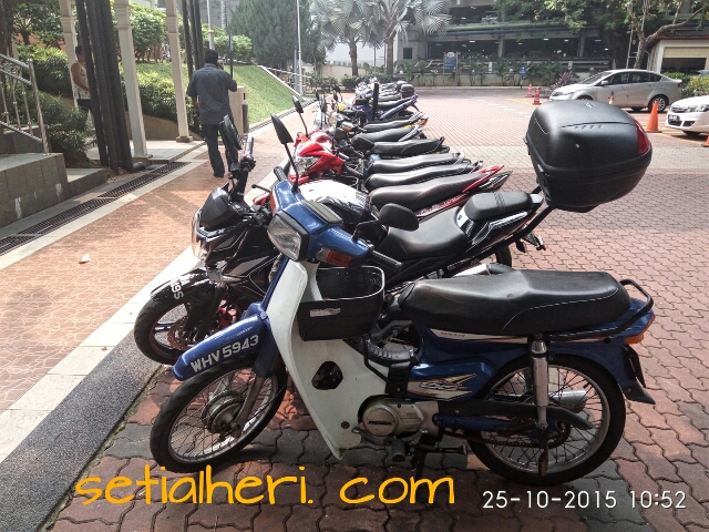 honda dream ex5 di Malaysia alias Honda Astrea Prima