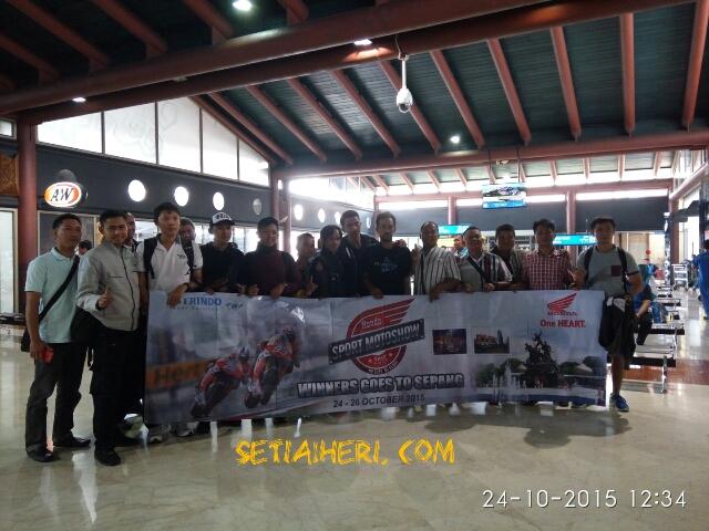 peserta bersama AHM ke moto gp sepang 2015