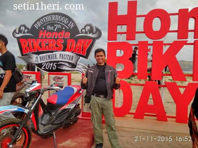 KHS di Honda Bikers Day 2015 Pacitan