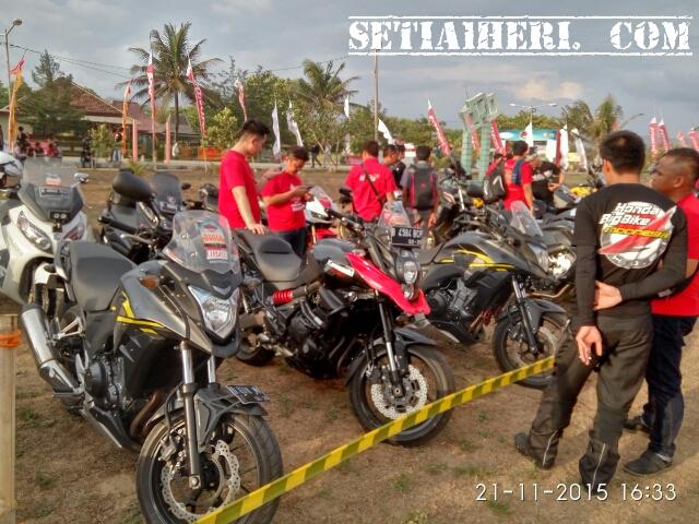 honda Bigbike di HBD 2015 ke-7 di Pacitan