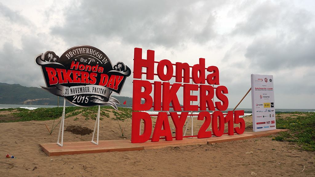 venue Honda Bikers Day 2015 Pacitan